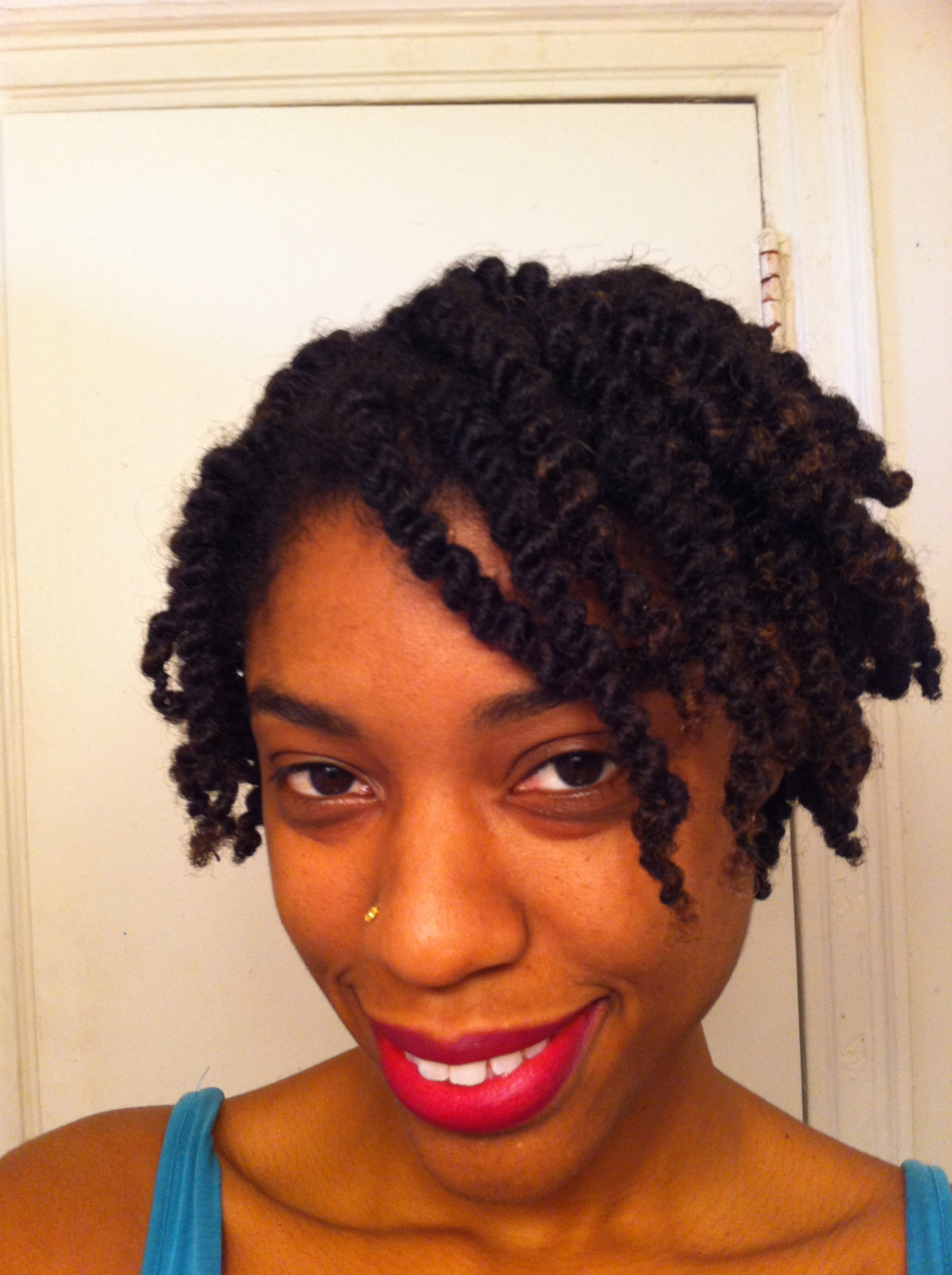 Protective Style: African Hair Threading/Ghana Plaits Confident ...